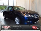 2013 Obsidian Blue Pearl Honda Accord EX-L Sedan #84042368