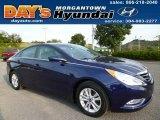 2013 Indigo Night Blue Hyundai Sonata GLS #84043030