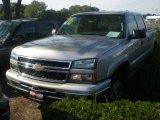 2006 Silver Birch Metallic Chevrolet Silverado 1500 LT Crew Cab 4x4 #8401778