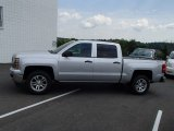 2014 Silver Ice Metallic Chevrolet Silverado 1500 LT Crew Cab 4x4 #84043116