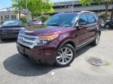 2011 Bordeaux Reserve Red Metallic Ford Explorer XLT 4WD #84043082