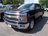 2014 Black Chevrolet Silverado 1500 LT Crew Cab 4x4 #84042347