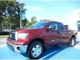 2010 Salsa Red Pearl Toyota Tundra SR5 Double Cab 4x4 #84042552