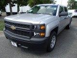 2014 Silver Ice Metallic Chevrolet Silverado 1500 WT Crew Cab #84042339