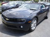 2013 Blue Ray Metallic Chevrolet Camaro LT Convertible #84042325