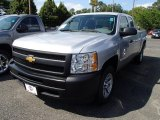 2013 Silver Ice Metallic Chevrolet Silverado 1500 Work Truck Extended Cab #84042323