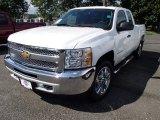 2013 Summit White Chevrolet Silverado 1500 LT Extended Cab 4x4 #84042317