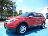 2011 Red Candy Metallic Ford Explorer XLT 4WD #84042547
