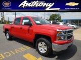 2014 Victory Red Chevrolet Silverado 1500 LT Crew Cab 4x4 #84043071