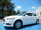 2013 White Platinum Metallic Tri-coat Ford Fusion SE #84042534