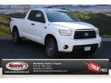 2013 Super White Toyota Tundra TRD Rock Warrior Double Cab 4x4 #84042290