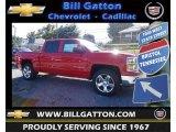 2014 Victory Red Chevrolet Silverado 1500 LT Crew Cab 4x4 #84043061
