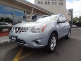 2012 Frosted Steel Nissan Rogue SV AWD #84042968