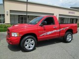2005 Flame Red Dodge Ram 1500 SLT Regular Cab 4x4 #84043053