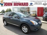 2013 Graphite Blue Nissan Rogue S AWD #84042964