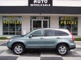 2011 Opal Sage Metallic Honda CR-V EX-L #84042856