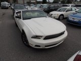 2011 Performance White Ford Mustang V6 Premium Convertible #84042840