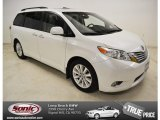 2011 Super White Toyota Sienna Limited #84042826