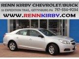 2013 Silver Ice Metallic Chevrolet Malibu LS #84093289