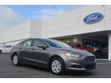 2013 Sterling Gray Metallic Ford Fusion S #84093068