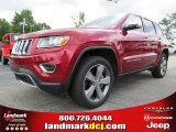 2014 Deep Cherry Red Crystal Pearl Jeep Grand Cherokee Limited 4x4 #84093049