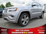 2014 Billet Silver Metallic Jeep Grand Cherokee Overland #84093048