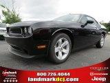 2013 Pitch Black Dodge Challenger SXT #84093042