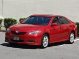 2008 Toyota Camry SE V6 Front 3/4 View