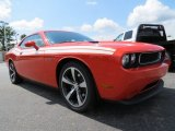Hemi Orange Pearl Dodge Challenger in 2013
