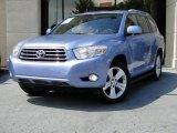 2008 Blue Streak Metallic Toyota Highlander Limited #84093169