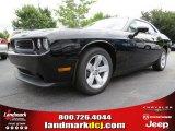 2013 Pitch Black Dodge Challenger SXT #84093038