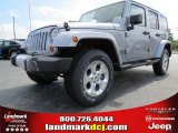 2013 Billet Silver Metallic Jeep Wrangler Unlimited Sahara 4x4 #84093028