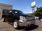 2013 Black Chevrolet Silverado 1500 LT Extended Cab 4x4 #84092872