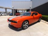 2013 Dodge Challenger Hemi Orange Pearl