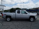 2013 Silver Ice Metallic Chevrolet Silverado 1500 LT Extended Cab 4x4 #84092982