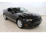 2011 Ebony Black Ford Mustang V6 Coupe #84093346