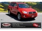2011 Barcelona Red Metallic Toyota RAV4 V6 Sport 4WD #84092798
