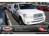2005 Natural White Toyota Tundra SR5 Double Cab 4x4 #84092795