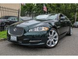2011 Botanical Green Metallic Jaguar XJ XJL #84092865