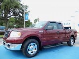 2006 Dark Toreador Red Metallic Ford F150 XLT SuperCab #84092975