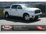 2013 Super White Toyota Tundra TRD CrewMax 4x4 #84092784
