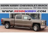 2014 Brownstone Metallic Chevrolet Silverado 1500 LTZ Crew Cab 4x4 #84093294