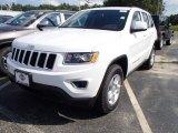 2014 Bright White Jeep Grand Cherokee Laredo 4x4 #84135354