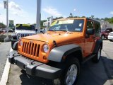 2012 Crush Orange Jeep Wrangler Sport S 4x4 #84135870