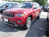 2014 Deep Cherry Red Crystal Pearl Jeep Grand Cherokee Limited 4x4 #84135352