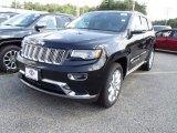 2014 Brilliant Black Crystal Pearl Jeep Grand Cherokee Summit 4x4 #84135351