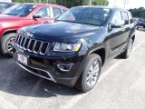 2014 Black Forest Green Pearl Jeep Grand Cherokee Limited 4x4 #84135350