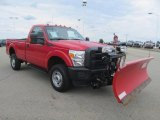 2012 Ford F350 Super Duty XL Regular Cab 4x4 Plow Truck Data, Info and Specs