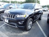 2014 Brilliant Black Crystal Pearl Jeep Grand Cherokee Limited 4x4 #84135342
