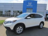 2013 White Diamond Pearl Honda CR-V EX-L AWD #84135996